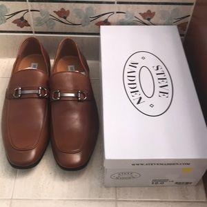 Men's size 12 Steve Madden cognac shoes